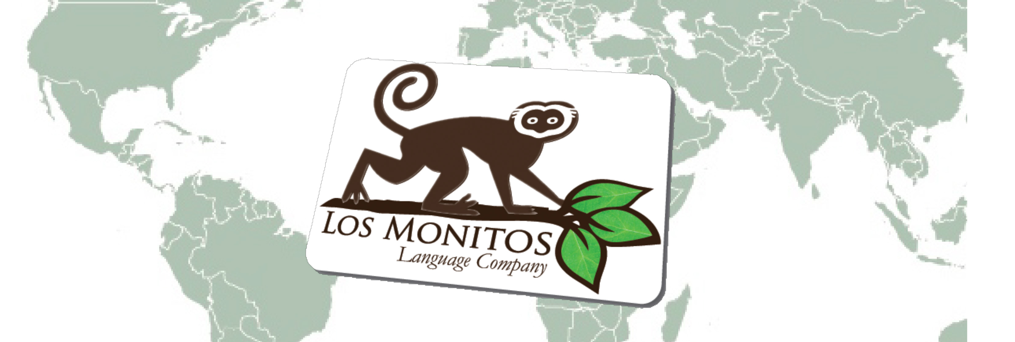 Los Monitos Language Company logo