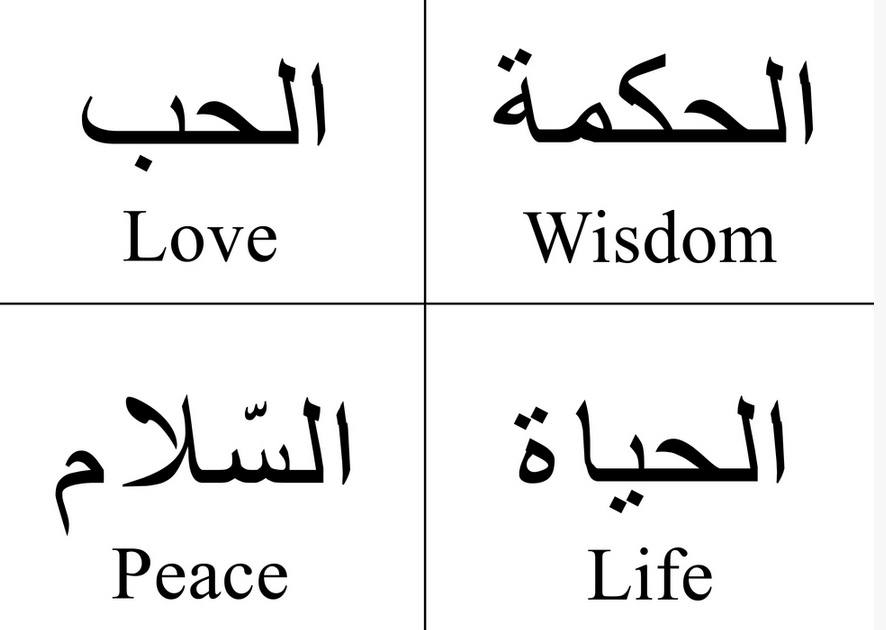 Life Quotes In Arabic With English Translation Cool Learn Arabic