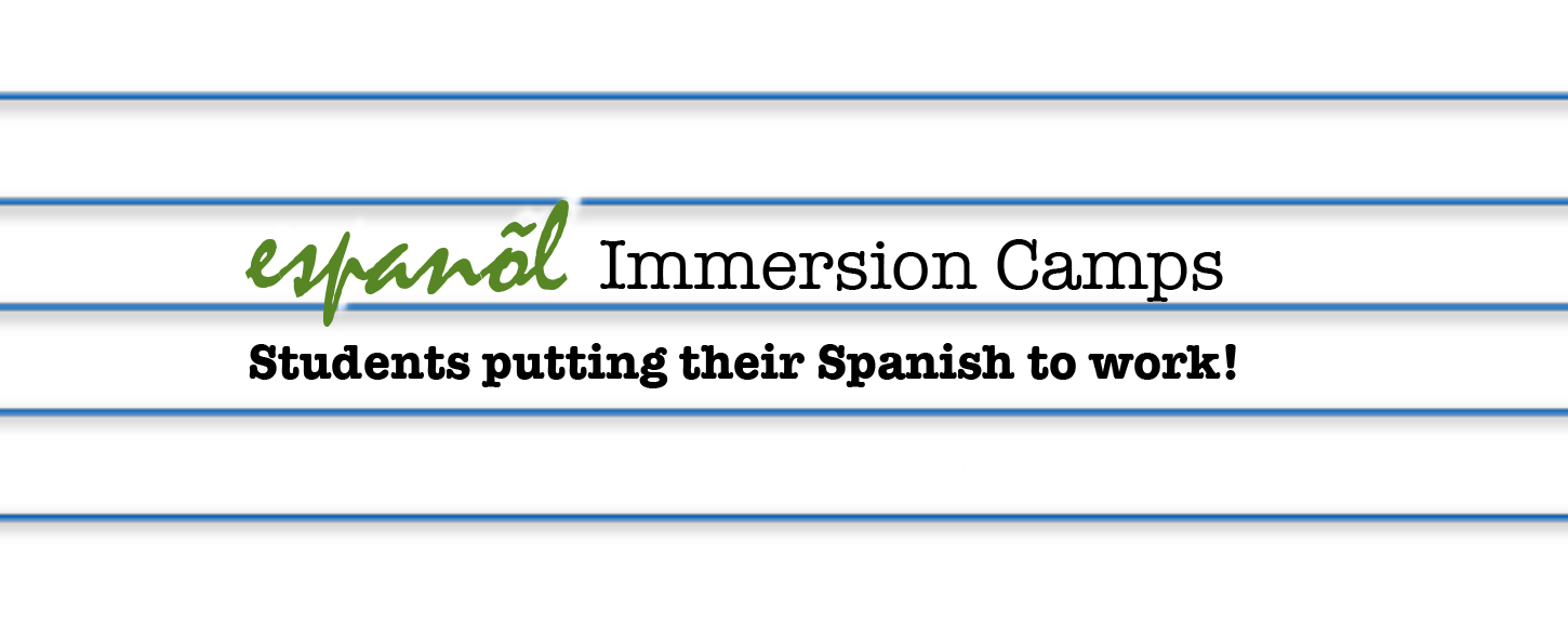 BRAND NEW Immersion Camps!